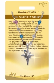 "<Br>               LEAD & NICKEL FREE!!<Br>                SYMBOLS OF FAITH!!<Br>  W15496N - ""THE NATIVITY STORY"" <Br>         NECKLACE WITH GIFT CARD<Br>   AND ENVELOPE AS LOW AS $8.47"