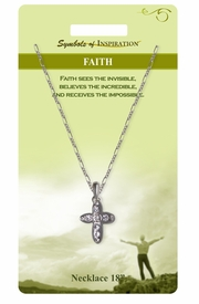 "<Br>              LEAD & NICKEL FREE!!<Br>      SYMBOLS OF INSPIRATION!!<Br>   W15445N - ""FAITH"" AUSTRIAN<Br>CRYSTAL CROSS NECKLACE WITH<BR>        GIFT CARD AND ENVELOPE<Br>                  AS LOW AS $7.97"
