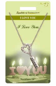 "<Br>               LEAD & NICKEL FREE!!<Br>        SYMBOLS OF INSPIRATION!!<Br>               W15456N - ""I LOVE YOU""<Br>         NECKLACE WITH GIFT CARD<Br>   AND ENVELOPE AS LOW AS $7.97"