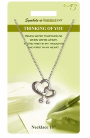 "<Br>               LEAD & NICKEL FREE!!<Br>        SYMBOLS OF INSPIRATION!!<Br>   W15468N - ""THINKING OF YOU"" <Br>         NECKLACE WITH GIFT CARD<Br>   AND ENVELOPE AS LOW AS $6.97"