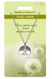 "<Br>               LEAD & NICKEL FREE!!<Br>        SYMBOLS OF INSPIRATION!!<Br>               W15470N - ""MAKE A WISH""<Br>         NECKLACE WITH GIFT CARD<Br>   AND ENVELOPE AS LOW AS $7.97"