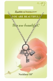 "<Br>               LEAD & NICKEL FREE!!<Br>        SYMBOLS OF INSPIRATION!!<Br>  W15474N - ""YOU ARE BEAUTIFUL"" <Br>         NECKLACE WITH GIFT CARD<Br>   AND ENVELOPE AS LOW AS $7.97"
