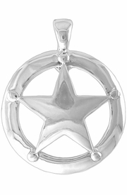 "<Br>                 LEAD & NICKEL FREE!!<br>  W12119N - ""LONESTAR"" MAGNETIC<Br>CLOSURE PENDANT AS LOW AS $3.85"