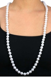 <Br>              LEAD & NICKEL FREE!!<Br>    W12550NE - BEAUTIFUL WHITE<Br>FAUX PEARL NECKLACE & EARRING<br>        SET FROM $13.81 TO $25.50