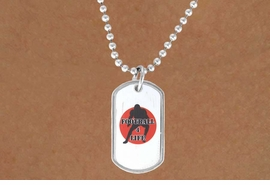 "<Br>          LEAD & NICKEL FREE!!<Br>W12971N - ""FOOTBALL 4 LIFE""<Br>       DOG TAG & BALL CHAIN<Br>   NECKLACE AS LOW AS $3.45"