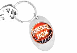 "<Br>               LEAD & NICKEL FREE!!<Br>W13059KC - ""BASKETBALL MOM""<Br>        KEY CHAIN AS LOW AS $1.99"