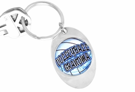 "<Br>                    LEAD & NICKEL FREE!!<Br>W13124KC - ""VOLLEYBALL GRANDMA""<Br>            KEY CHAIN AS LOW AS $1.99"