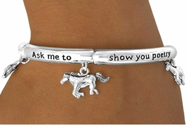 "<Br>            LEAD & NICKEL FREE!!<Br>W13419B - ""POETRY IN MOTION""<bR>      BRACELET AS LOW AS $3.95"