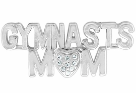 "<Br>           LEAD & NICKEL FREE!! <Br>W13429P - ""GYMNAST'S MOM"" PIN <br>       AS LOW AS $5.55"