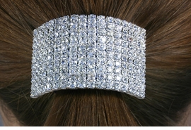 <Br>           LEAD & NICKEL FREE!!<Br>W14231HJ - GENUINE AUSTRIAN<Br>    CRYSTAL PONYTAIL HOLDER<Br>          FROM $6.75 TO $15.00