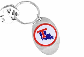 "<Br>                   LEAD & NICKEL FREE!!<Br> W14333KC - LICENSED LOUISIANA TECH<br>        UNIVERSITY ""BULLDOGS"" LOGO<Br>       KEY CHAIN FROM $1.99"