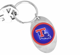 "<Br>                   LEAD & NICKEL FREE!!<Br>W14334KC - LICENSED LOUISIANA TECH<br>        UNIVERSITY ""BULLDOGS"" LOGO<Br>        KEY CHAIN FROM $1.99"