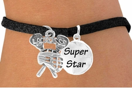 "<Br>              LEAD & NICKEL FREE!!<Br>W14429B - ""LACROSSE"" STICKS &<Br>  ""SUPER STAR"" CHAIN BRACELET<BR>                   AS LOW AS $4.15"