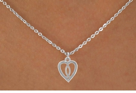 "<Br>             LEAD & NICKEL FREE!!<BR>W14561N - CHRISTIAN FISH HEART<Br>CHILDREN'S 12"" CHAIN NECKLACE<BR>               FROM $3.55 TO $7.50"