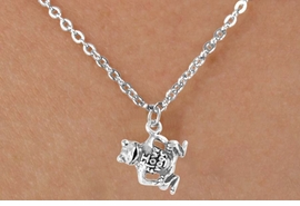 "<Br>              LEAD & NICKEL FREE!!<BR>   W14587N - ""I LOVE FROGS"" ON<Br>CHILDREN'S 12"" CHAIN NECKLACE<BR>                   AS LOW AS $3.55"