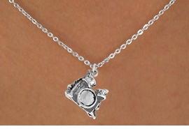 "<Br>             LEAD & NICKEL FREE!!<BR>      W14612N - DRUM SET ON A<Br>CHILDREN'S 12"" CHAIN NECKLACE<BR>                   AS LOW AS $3.55"