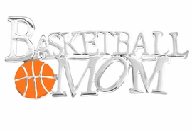 "<Br>            LEAD & NICKEL FREE!!<Br>W15960P - ""BASKETBALL MOM""<Br>    & COLORED BASKETBALL PIN<Br>            FROM $2.25 TO $5.00"