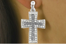 "<Br>                   LEAD & NICKEL FREE!!<Br>W16195NE - ""GLITTERING FIRE CROSS""<Br>            PENDANT NECKLACE FROM<Br>                       $20.81 TO $46.25"