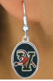 <Br>      LEAD & NICKEL FREE!!<bR>W17175E - LICENSED<Br> UNIVERSITY OF VERMONT<Br>EARRINGS FROM $3.94 TO $8.75