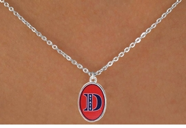 "<Br>              LEAD & NICKEL FREE!!<bR> W17209N - LICENSED DIXIE STATE<Br>COLLEGE ""RED STORM"" NECKLACE<BR>              FROM $3.94 TO $8.75"