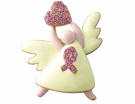 "<br>                   LEAD & NICKEL FREE!!<BR>     W3459P-OUR #1 ""BEST SELLING""<BR>BREAST CANCER PIN FROM $4.11 TO $8.75"