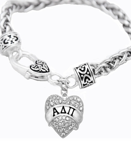 <BR>LICENSED SORORITY JEWELRY MANUFACTURER<BR>                 ALPHA DELTA PI  SORORITY BRACELET<BR>                 NICKEL, LEAD,  & CADMIUM FREE! <BR>                       EXCLUSIVELY OURS W1744B1<BR>               FROM $7.90 TO $12.50 EACH �2015