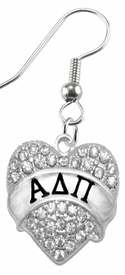 <BR>LICENSED SORORITY JEWELRY MANUFACTURER<BR>                 ALPHA DELTA PI  SORORITY EARRING<BR>                 NICKEL, LEAD,  & CADMIUM FREE! <BR>                       EXCLUSIVELY OURS W1744E1<BR>               FROM $7.90 TO $12.50 EACH �2015