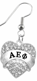 <BR>     LICENSED SORORITY JEWELRY MANUFACTURER<BR>          ALPHA EPSILON PHI  SORORITY EARRING<BR>                 NICKEL, LEAD,  & CADMIUM FREE! <BR>                                 HYPOALLERGENIC<BR>                       EXCLUSIVELY OURS W1745B1<BR>               FROM $7.90 TO $12.50 EACH �2015