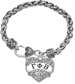 <BR>     LICENSED SORORITY JEWELRY MANUFACTURER<BR>           GAMMA PHI BETA  SORORITY BRACELET<BR>                 NICKEL, LEAD,  & CADMIUM FREE! <BR>                                 HYPOALLERGENIC<BR>                       EXCLUSIVELY OURS W1748B1<BR>               FROM $7.90 TO $12.50 EACH �2015