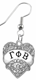 <BR>     LICENSED SORORITY JEWELRY MANUFACTURER<BR>           GAMMA PHI BETA  SORORITY EARRINGS<BR>                 NICKEL, LEAD,  & CADMIUM FREE! <BR>                                 HYPOALLERGENIC<BR>                       EXCLUSIVELY OURS W1748E1<BR>               FROM $7.90 TO $12.50 EACH �2015