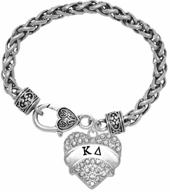 <BR>     LICENSED SORORITY JEWELRY MANUFACTURER<BR>           KAPPA DELTA  SORORITY BRACELET<BR>                 NICKEL, LEAD,  & CADMIUM FREE! <BR>                                 HYPOALLERGENIC<BR>                       EXCLUSIVELY OURS W1738B1<BR>               FROM $7.90 TO $12.50 EACH �2015