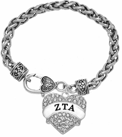 <BR>      LICENSED SORORITY JEWELRY MANUFACTURER<BR>           ZETA TAU ALPHA SORORITY BRACELET<BR>                 NICKEL, LEAD,  & CADMIUM FREE! <BR>                       EXCLUSIVELY OURS W1739B1<BR>               FROM $7.90 TO $12.50 EACH �2015 <BR>