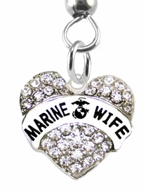 "<BR>       ""MARINE WIFE""  EXCLUSIVELY OURS!!   <Br>               AN ALLAN ROBIN DESIGN!!   <BR>        NICKEL, LEAD & CADMIUM FREE!!   <BR>W1811B1- FROM $5.98 TO $12.85 �2015"