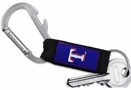 <bR>MLB BASEBALL TEAM KEYCHAIN WHOLESALE<BR>            OFFICIAL BASEBALL LICENSED!! <br>                    LEAD & NICKEL FREE!!! <br> W20500KC - OFFICIAL TEXAS RANGERS <BR>  CARABINER WITH BOTTLE OPENER AND <BR>      KEY CHAIN YOURS FOR $1.43 To $1.68 EACH �2013
