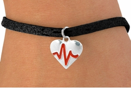 "<BR>                                  NICKEL FREE & ADJUSTABLE NECKLACE ! <BR>                                                         ""THE PERFECT GIFT"",<BR>                               ""Your Love Makes My Heart Beat"","" I Love You"", Or<BR>                      In Recognition Of ""Women's Or Children's Heart Disease""<BR>                           "" HEARTBEAT "" ADJUSTABLE BLACK SUEDE  BRACELET<BR>                               AN ORIGINAL ALLAN ROBIN CUSTOM DESIGN<br>                                          WHOLESALE CHARM BRACELET <BR>                                        LEAD, CADMIUM & NICKEL FREE!!  <BR>                           W21562B-ANTIQUE WOVEN CHAIN SILVER TONE  <BR>                             BRACELET FROM $4.90 TO $5.85 EACH! ©2015"