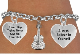 <BR> BEAUTIFUL CRYSTAL GUITAR ADJUSTABLE CHARM BRACELET WHOLESALE <bR>                 W21434B - THE NEW WAY TO EXPRESS LOVE, MOTIVATION,<BR>          POSITIVE, AFFIRMATIVE EXPRESSIONS, THAT WILL GO PERFECTLY<br>        WITH ANOTHER POSITIVE AFFIRMATION CHARM IF YOU WANT  ONE,<BR>   MORE CHOICES LOOK BELOW,  CHARM BRACELET FROM $9.73 TO $14.58<BR>                                    CostumeJewelryWholesale.com �2014