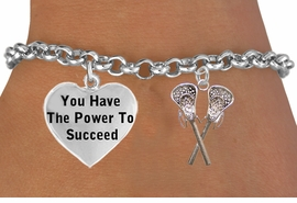 "<BR>GENUINE ""CRYSTAL LACROSSE"" ADJUSTABLE CHARM BRACELET WHOLESALE <bR>                 W21472B - THE NEW WAY TO EXPRESS LOVE, MOTIVATION,<BR>          POSITIVE, AFFIRMATIVE EXPRESSIONS, THAT WILL GO PERFECTLY<br>        WITH ANOTHER POSITIVE AFFIRMATION CHARM IF YOU WANT  ONE,<BR>   MORE CHOICES LOOK BELOW,  CHARM BRACELET FROM $9.73 TO $14.58<BR>                                    CostumeJewelryWholesale.com �2014"