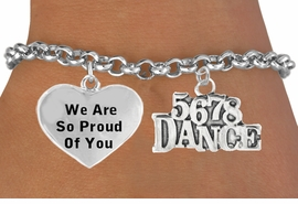 "<BR>                           "" 5 6 7 8 DANCE "" CHARM BRACELET WHOLESALE <bR>                 W21467B - THE NEW WAY TO EXPRESS LOVE, MOTIVATION,<BR>          POSITIVE, AFFIRMATIVE EXPRESSIONS, THAT WILL GO PERFECTLY<br>        WITH ANOTHER POSITIVE AFFIRMATION CHARM IF YOU WANT  ONE,<BR>   MORE CHOICES LOOK BELOW,  CHARM BRACELET FROM $9.73 TO $14.58<BR>                                    CostumeJewelryWholesale.com �2014"