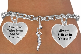 "<BR>                                            WOMEN'S BASKETBALL "" DUNK "" <BR>                                 ADJUSTABLE CHARM BRACELET WHOLESALE <bR>                    W21512B - THE NEW WAY TO EXPRESS LOVE, MOTIVATION,<BR>             POSITIVE, AFFIRMATIVE EXPRESSIONS, THAT WILL GO PERFECTLY<br>           WITH ANOTHER POSITIVE AFFIRMATION CHARM IF YOU WANT  ONE,<BR>      MORE CHOICES LOOK BELOW,  CHARM BRACELET FROM $9.73 TO $14.58<BR>                                       CostumeJewelryWholesale.com �2014"