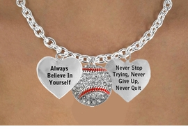 """<BR>       BEAUTIFUL """" CRYSTAL SOFTBALL """" CHARM NECKLACE WHOLESALE <bR>                 W21471N - THE NEW WAY TO EXPRESS LOVE, MOTIVATION,<BR>          POSITIVE, AFFIRMATIVE EXPRESSIONS, THAT WILL GO PERFECTLY<br>        WITH ANOTHER POSITIVE AFFIRMATION CHARM IF YOU WANT  ONE,<BR>   MORE CHOICES LOOK BELOW,  CHARM NECKLACE FROM $9.73 TO $14.58<BR>                                    CostumeJewelryWholesale.com �2014"""