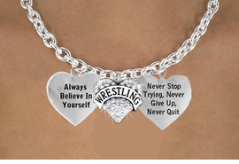 "<BR> BEAUTIFUL CRYSTAL "" WRESTLING "" HEART CHARM NECKLACE, WHOLESALE <bR>                 W21479N - THE NEW WAY TO EXPRESS LOVE, MOTIVATION,<BR>          POSITIVE, AFFIRMATIVE EXPRESSIONS, THAT WILL GO PERFECTLY<br>        WITH ANOTHER POSITIVE AFFIRMATION CHARM IF YOU WANT  ONE,<BR>   MORE CHOICES LOOK BELOW,  CHARM NECKLACE FROM $9.73 TO $14.58<BR>                                    CostumeJewelryWholesale.com �2014"