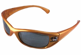 """<br>OFFICIALLY LICENSED COLLEGE!!<BR>      W13795SG - UNIVERSITY OF<Br>       MISSOURI """"TIGERS"""" LOGO<bR>  SUNGLASSES AS LOW AS $5.50"""
