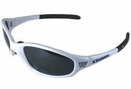 "<BR>     OFFICIALLY LICENSED COLLEGE!!<BR>W14070SG - WASHBURN UNIVERSITY<Br>     ""ICHABODS"" LOGO SUNGLASSES<BR>                      AS LOW AS $5.50"
