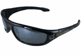 "<BR>     OFFICIALLY LICENSED COLLEGE!!<BR>W14073SG - TEXAS STATE UNIVERSITY<Br>     ""BOBCATS"" LOGO SUNGLASSES<BR>                      AS LOW AS $5.50"