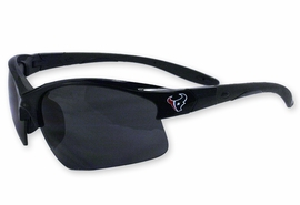 "<BR>   OFFICIALLY LICENSED NFL ITEM!! <BR>W19585SG - NFL HOUSTON TEXANS <Br>""TEXANS BULL"" LOGO SUNGLASSES<br>              FROM $9.00 TO $20.00"