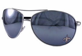 "<BR>  OFFICIALLY LICENSED NFL PRODUCT!! <BR>   W19807SG - NEW ORLEANS SAINTS <Br>""FLEUR DI LIS"" AVIATOR SUNGLASSES <br>              FROM $9.00 TO $20.00"