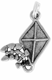 <Br>OFFICIALLY LICENSED SORORITY CHARM!!<Br>                     LEAD & NICKEL FREE!!<Br>                   W881SC - SORORITY KITE <Br>                 CHARM FROM $2.35 TO $4.05