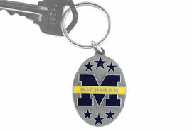 <br>                    OFFICIALLY  LICENSED!!<br>  W14884KC - UNIVERSITY OF MICHIGAN<br>WOLVERINES KEY CHAIN AS LOW AS $1.99