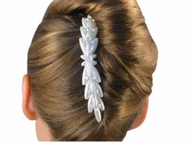 S1181HJ-STYLISH HAIR COMB<BR> WITH SWAROVSKI CRYSTALS<BR>        FROM $6.19 TO $13.75