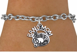"<br> BAND MOM BAND CHARM BRACELET WHOLESALE <bR>                     EXCLUSIVELY OURS!!<BR>                AN ALLAN ROBIN DESIGN!!<BR>       CLICK HERE TO SEE 1000+ EXCITING<BR>             CHANGES THAT YOU CAN MAKE!<BR>          CADMIUM, LEAD & NICKEL FREE!!<BR>        W1485SB - DETAILED SILVER TONE <Br> ""BAND MOM"" BAND OR CHOIR CHARM & BRACELET <BR>              FROM $4.50 TO $8.35 �2013"